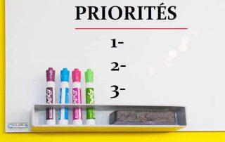 les priorites