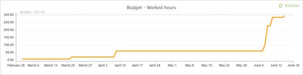 budget progress