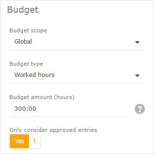 budget scope