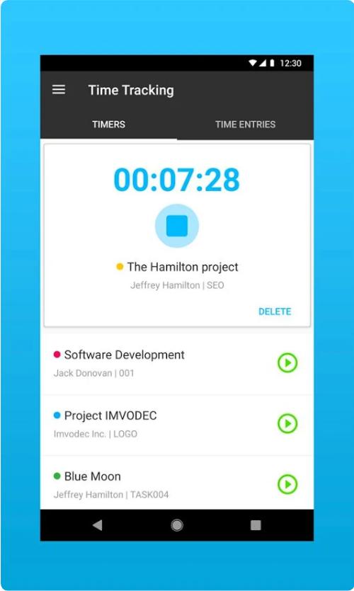 Nutcache mobile app