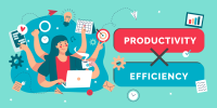 Productivity and efficiency